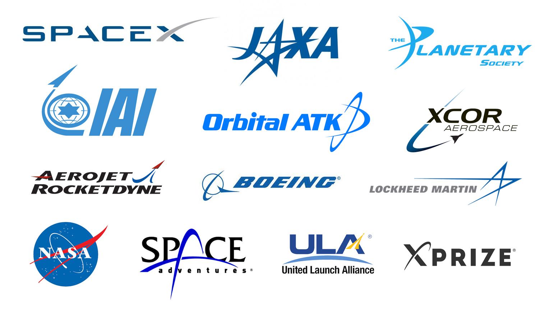 space company logo cosma schema